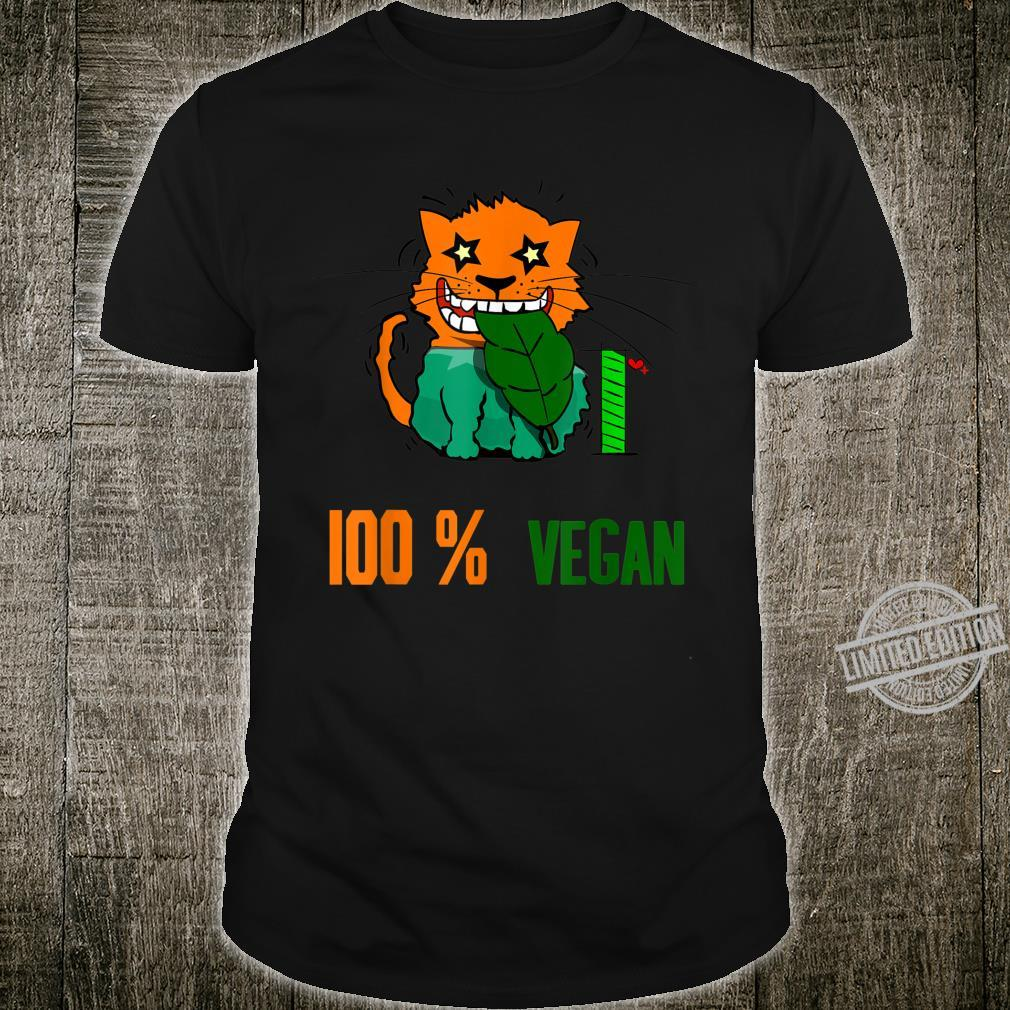100 % Vegan Vegetarier Shirt