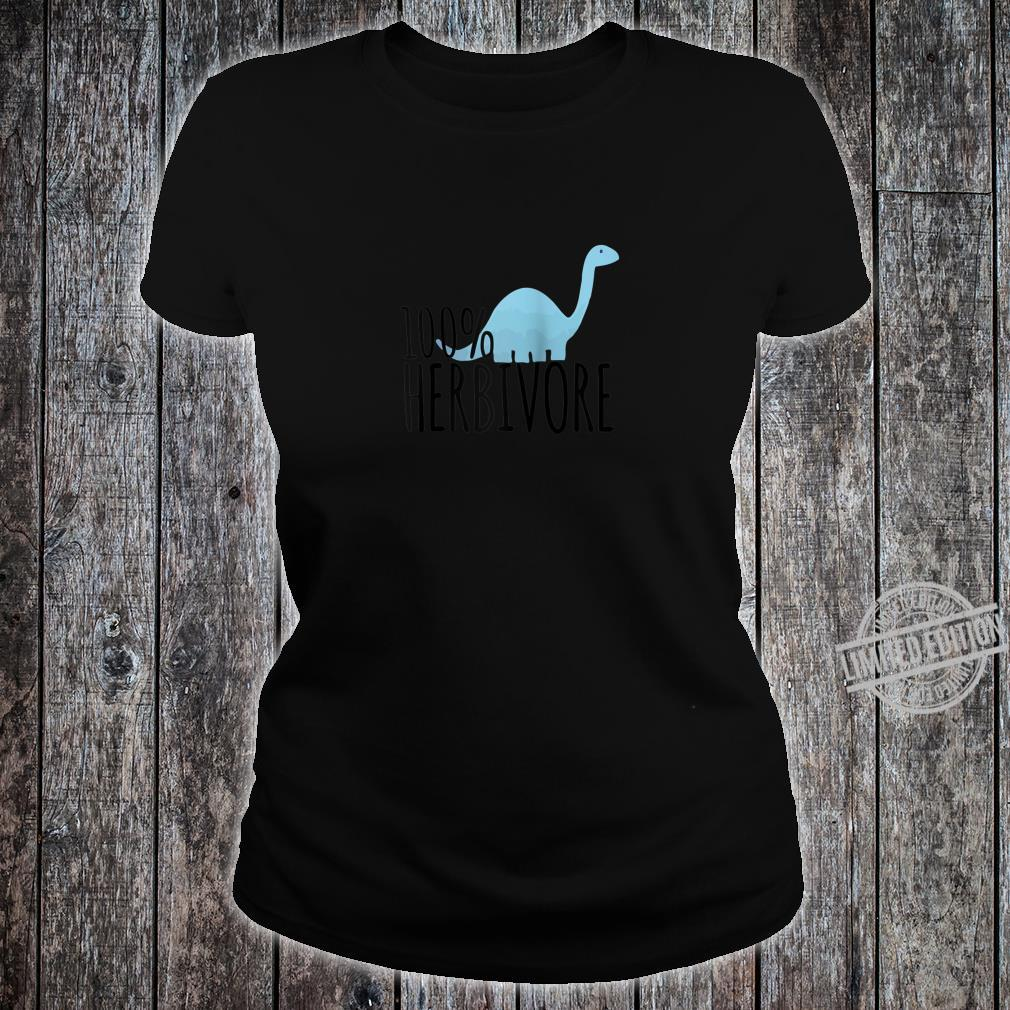 100% Herbivore Dino Design Shirt ladies tee