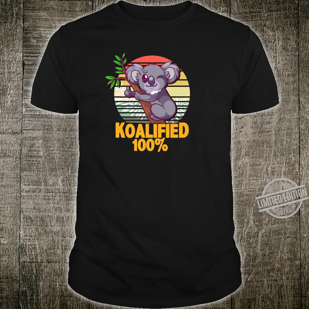 100% Koalafied Koala Shirt