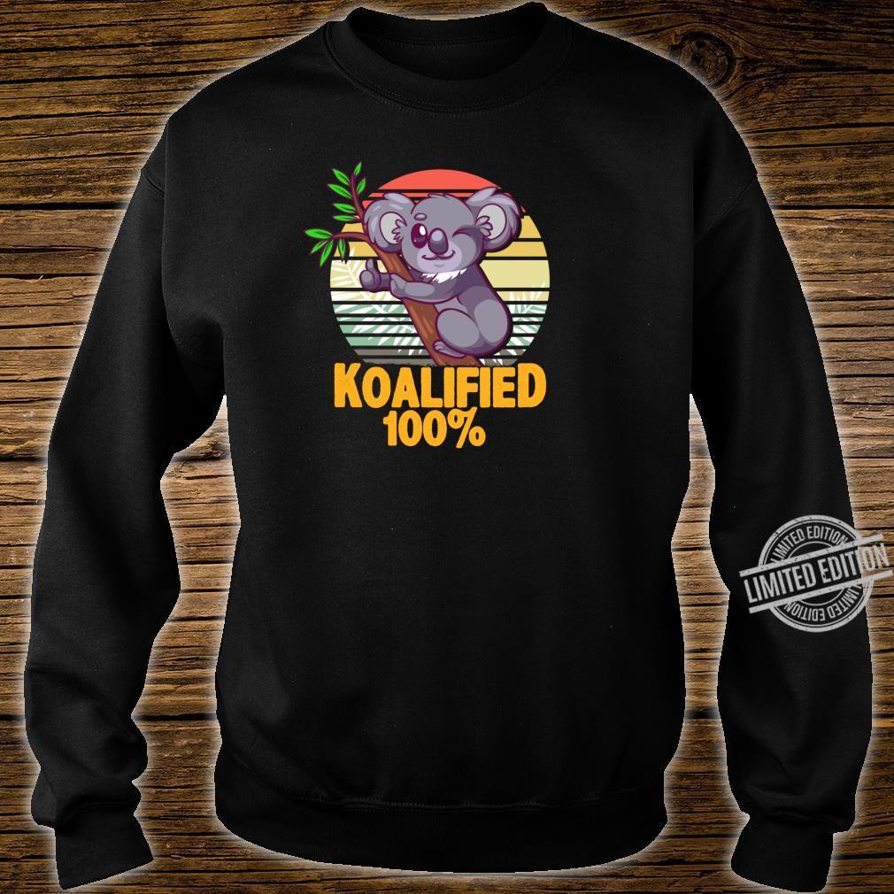 100% Koalafied Koala Shirt sweater