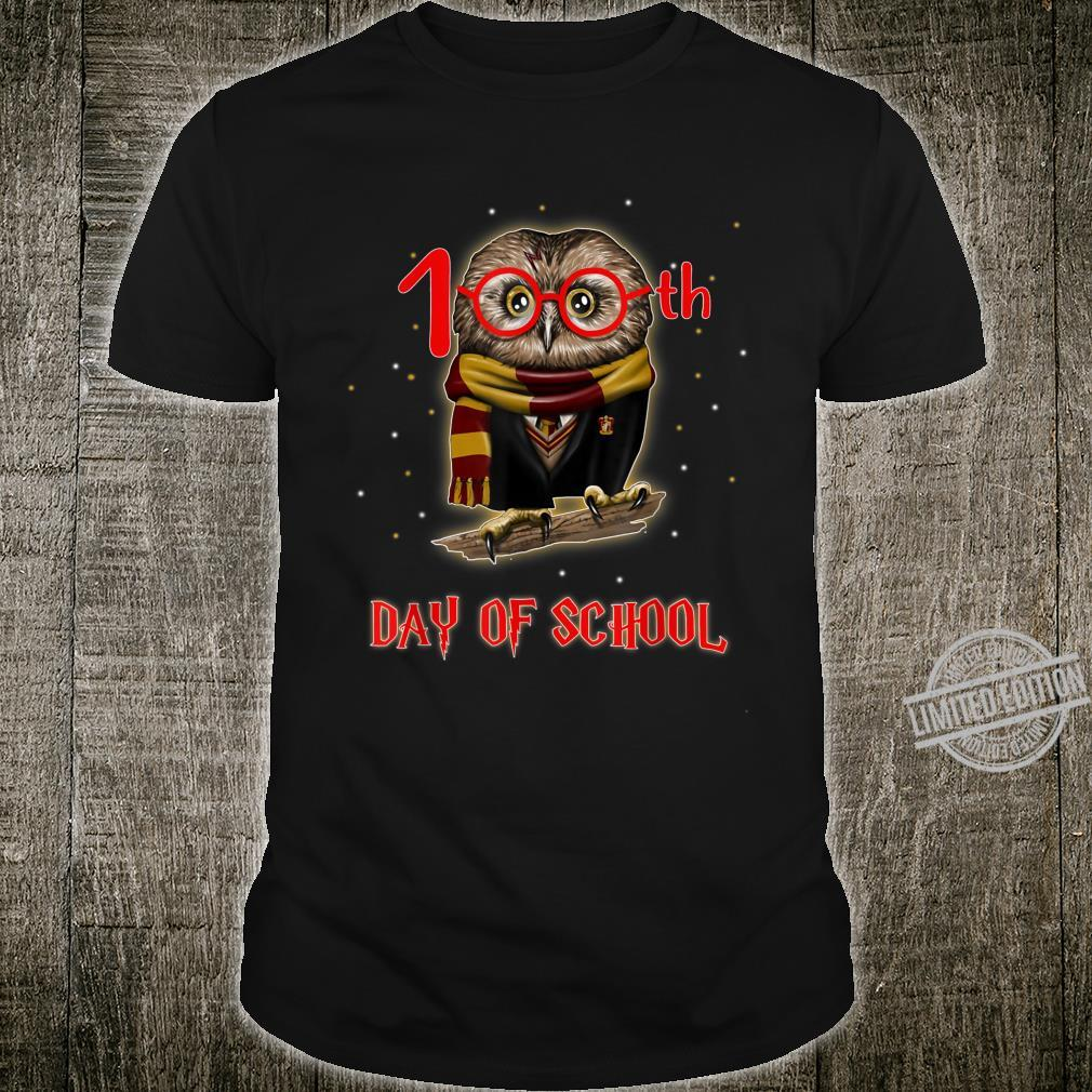 100th Day of School Owl Shirt Teacher Student Shirt