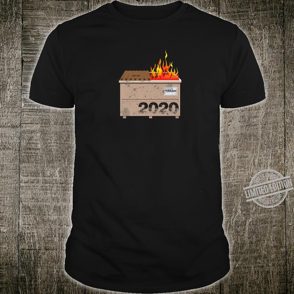 2020 Dumpster Fire Shirt