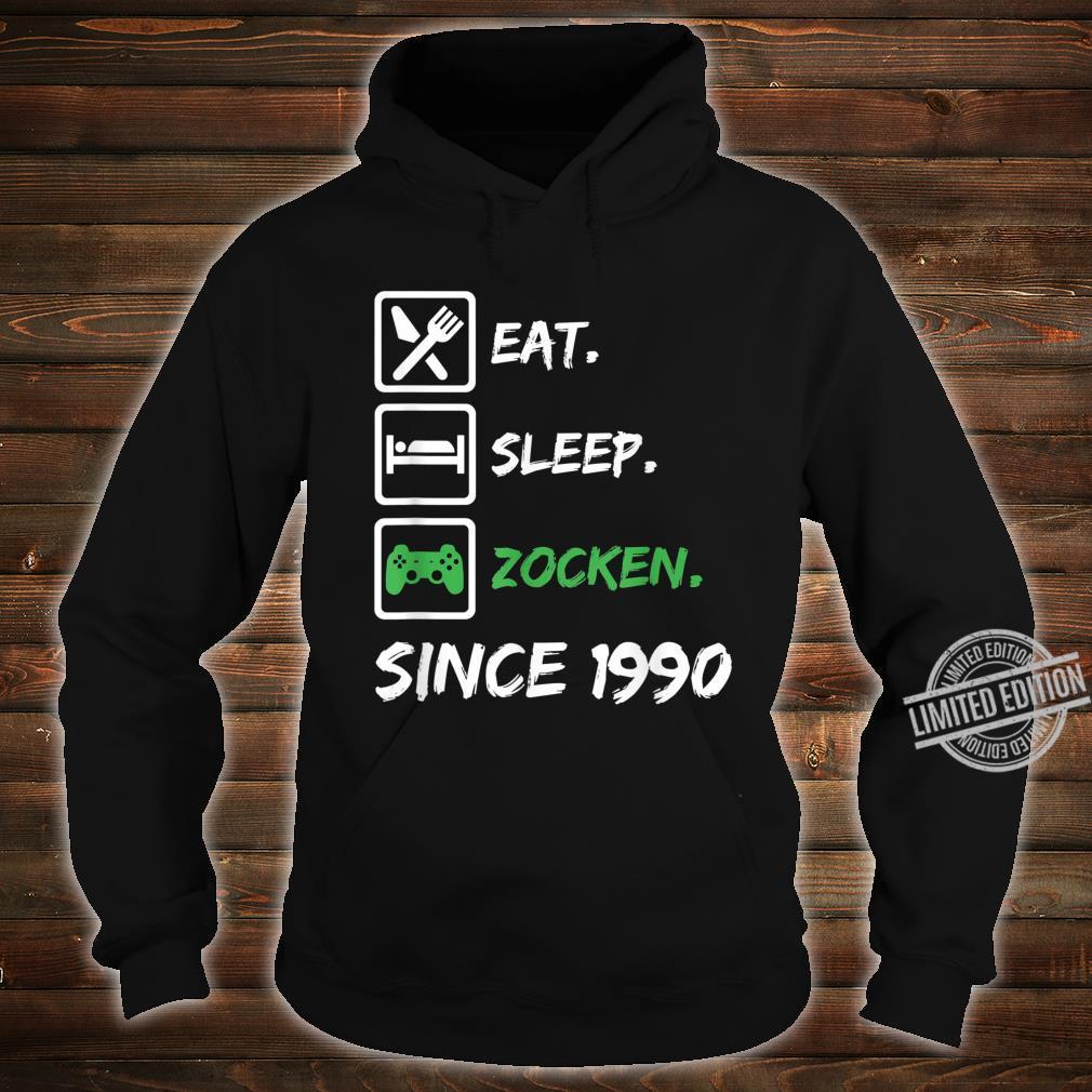 30. Geburtstag Mädchen Junge 30 Jahre 1990 Gamer Zocker Gabe Shirt hoodie