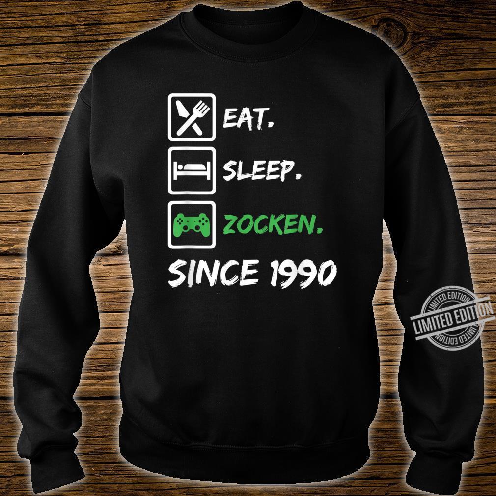 30. Geburtstag Mädchen Junge 30 Jahre 1990 Gamer Zocker Gabe Shirt sweater