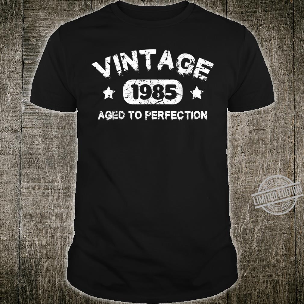 35 Years Old 1985 Vintage 35th Birthday Idea Shirt