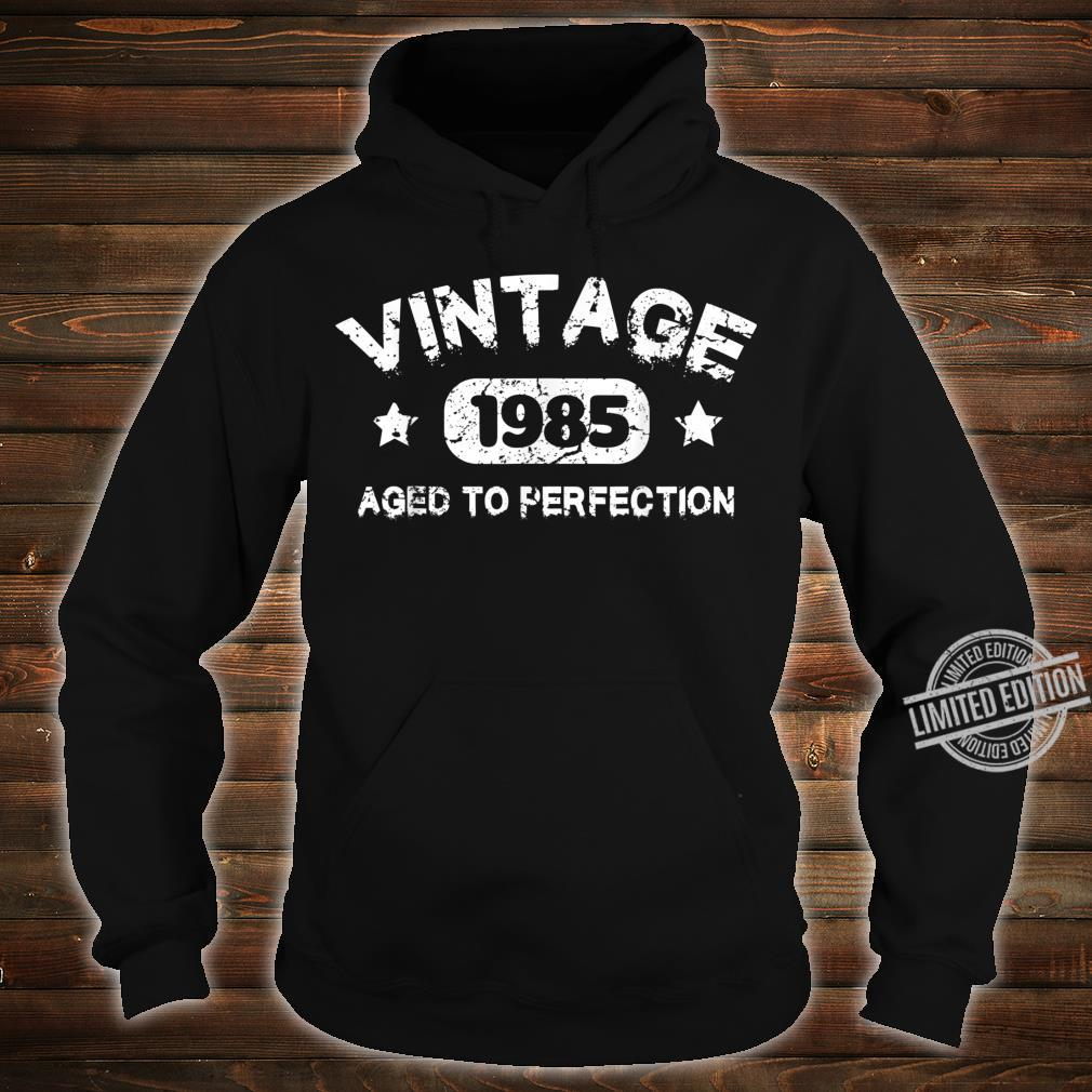 35 Years Old 1985 Vintage 35th Birthday Idea Shirt hoodie