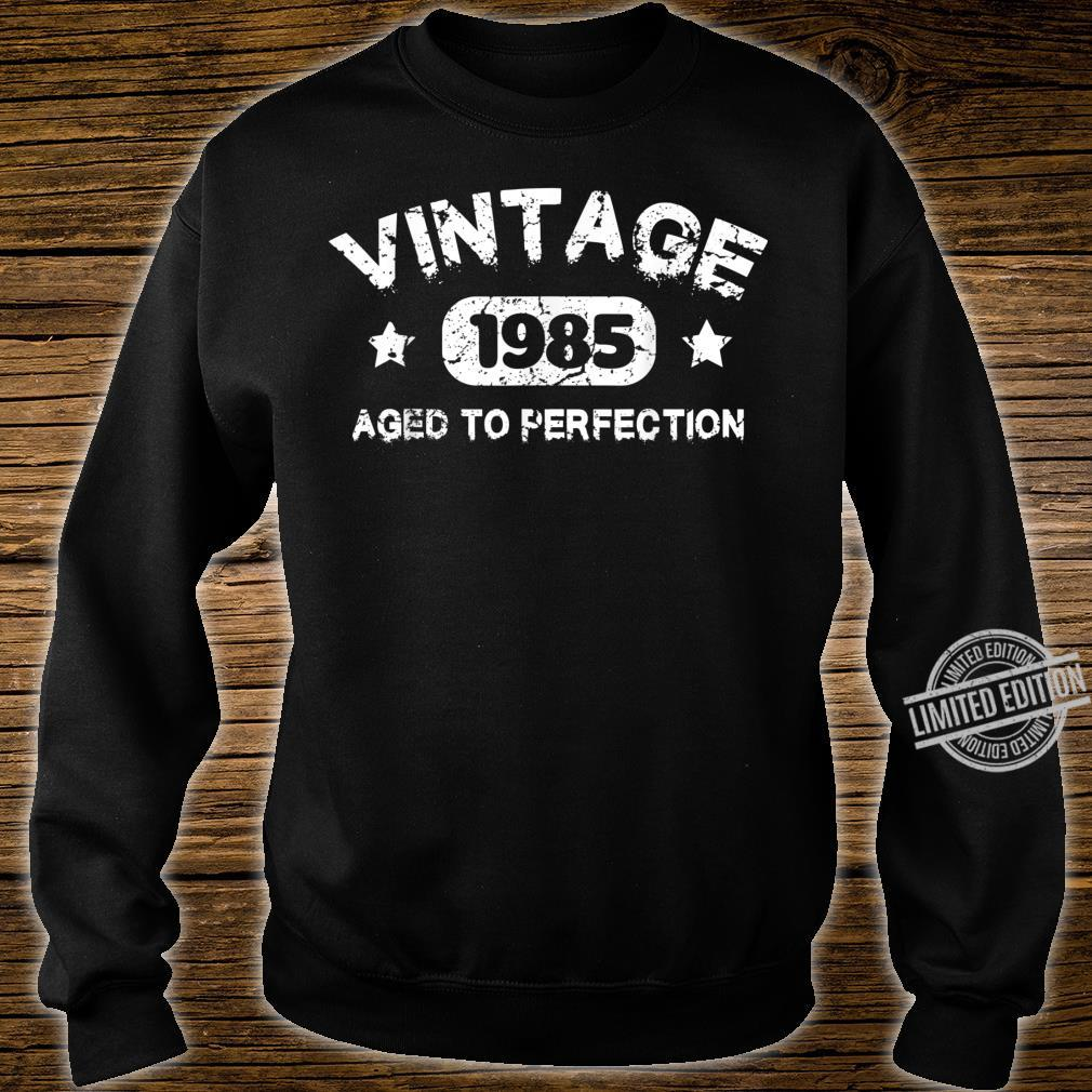 35 Years Old 1985 Vintage 35th Birthday Idea Shirt sweater