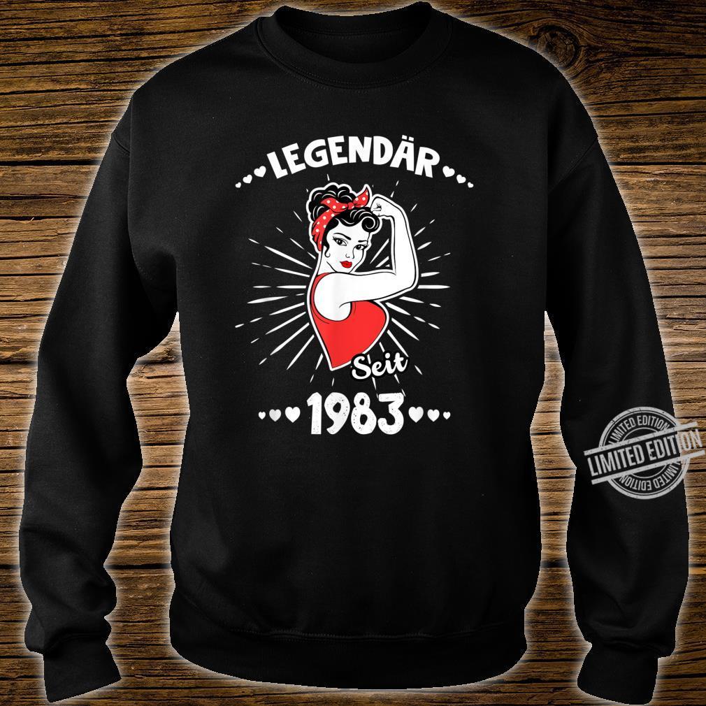 37 geburtstag frau lustig Shirt sweater