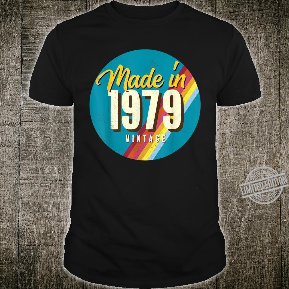 41. Geburtstag Geschenk Vintage Made in 1979 Shirt