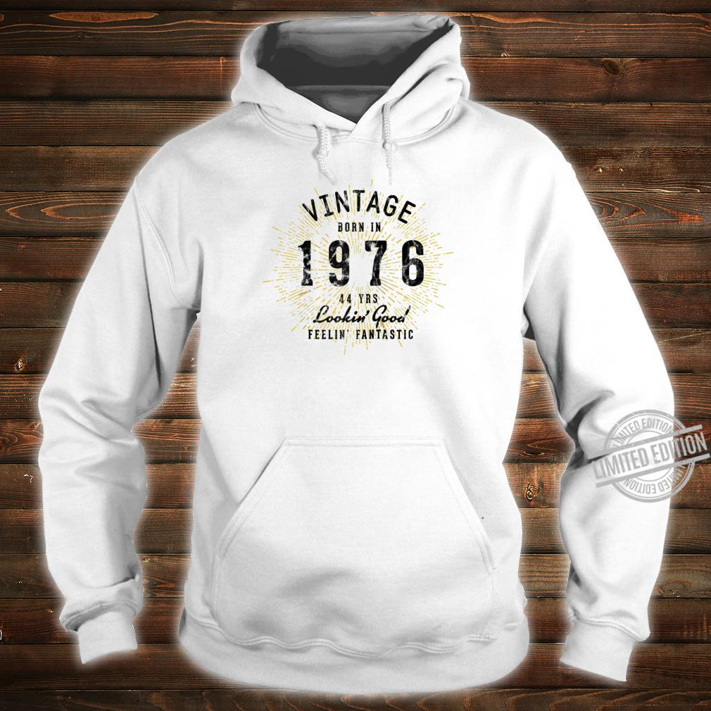 44th Birthday Present Born in 1976 Shirt hoodie