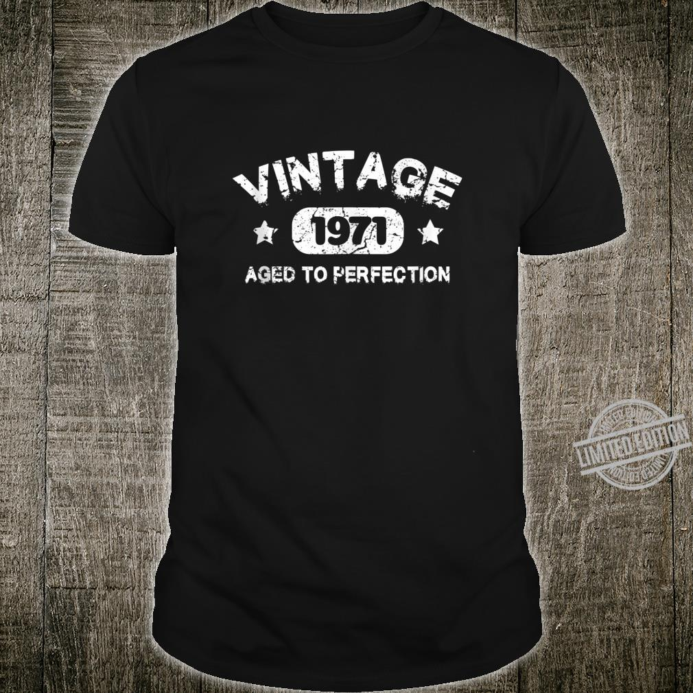 49 Years Old 1971 Vintage 49th Birthday Idea Shirt