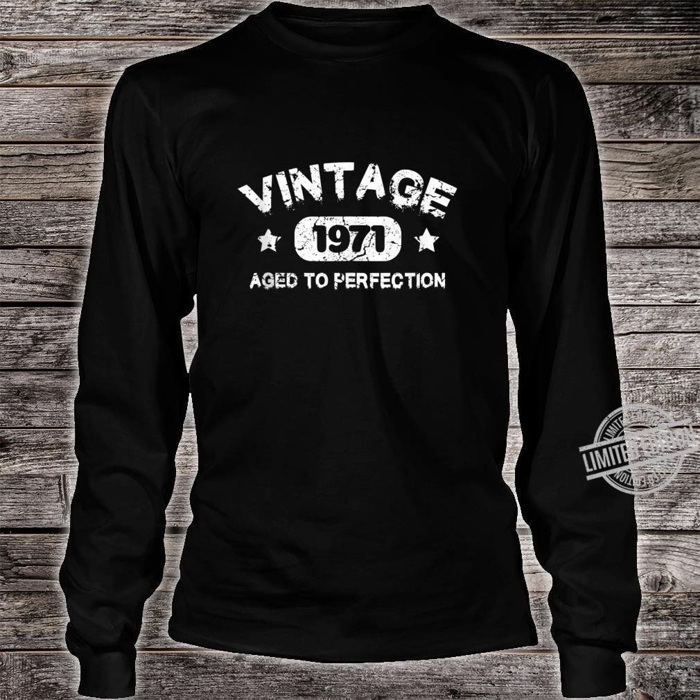 49 Years Old 1971 Vintage 49th Birthday Idea Shirt long sleeved