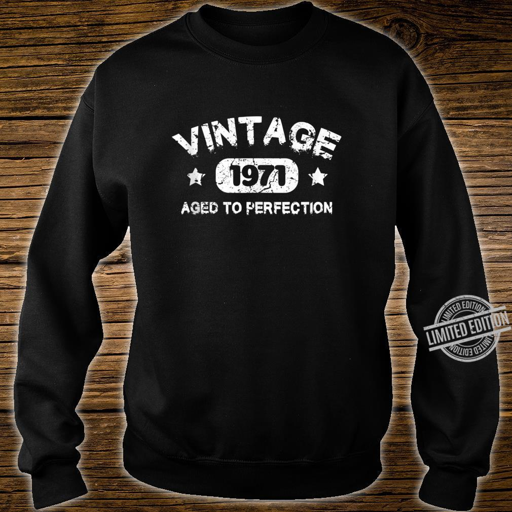 49 Years Old 1971 Vintage 49th Birthday Idea Shirt sweater