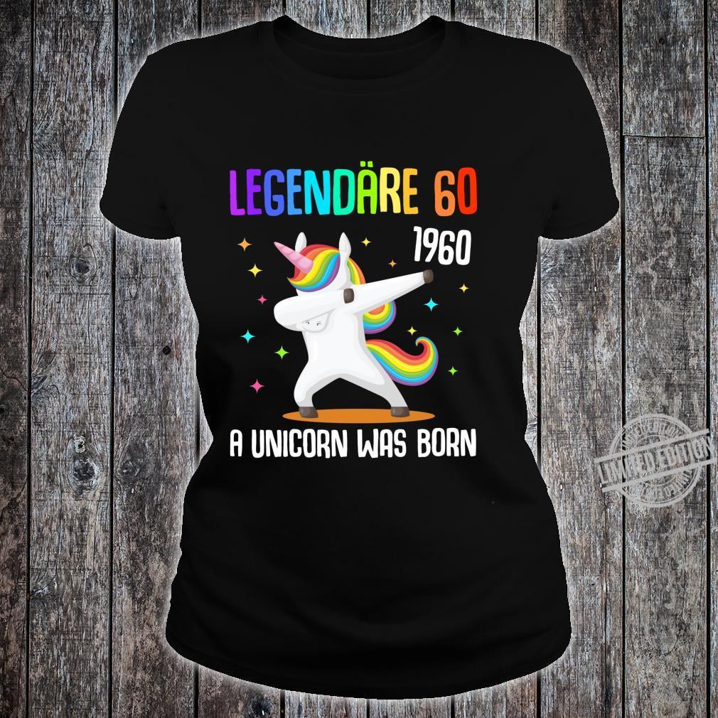 60. Geburtstag Frau Jahrgang 1960 Frauen 60 Jahre Geschenk Langarmshirt Shirt ladies tee