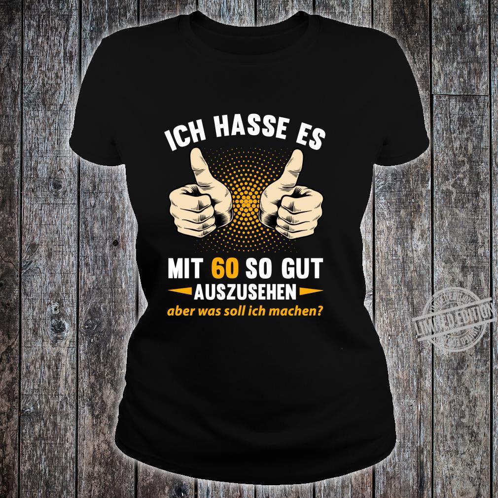 60. Geburtstag Mann Frau 60 Jahre Jahrgang 1960 Geschenk Langarmshirt Shirt ladies tee