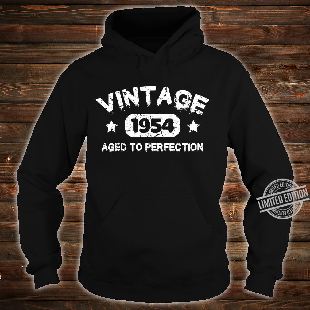 66 Years Old 1954 Vintage 66th Birthday Idea Langarmshirt Shirt hoodie