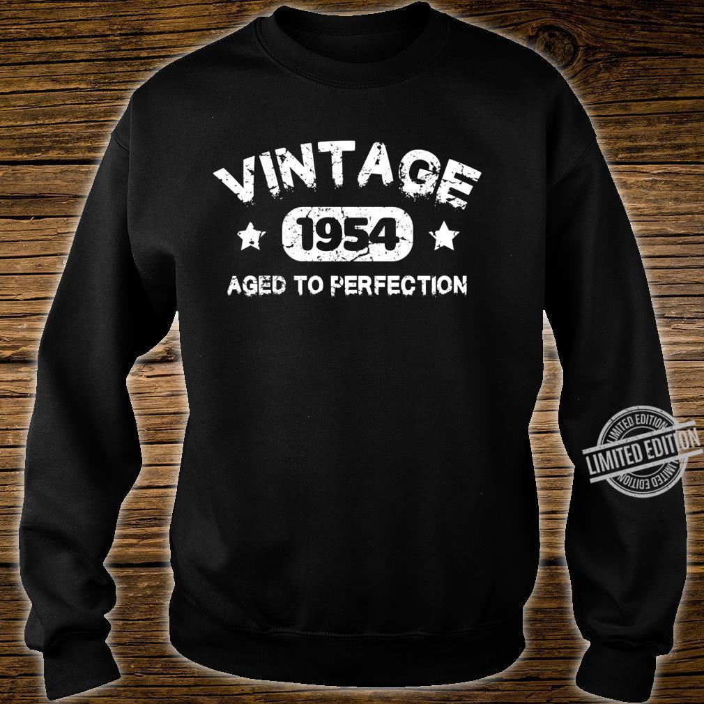 66 Years Old 1954 Vintage 66th Birthday Idea Langarmshirt Shirt sweater