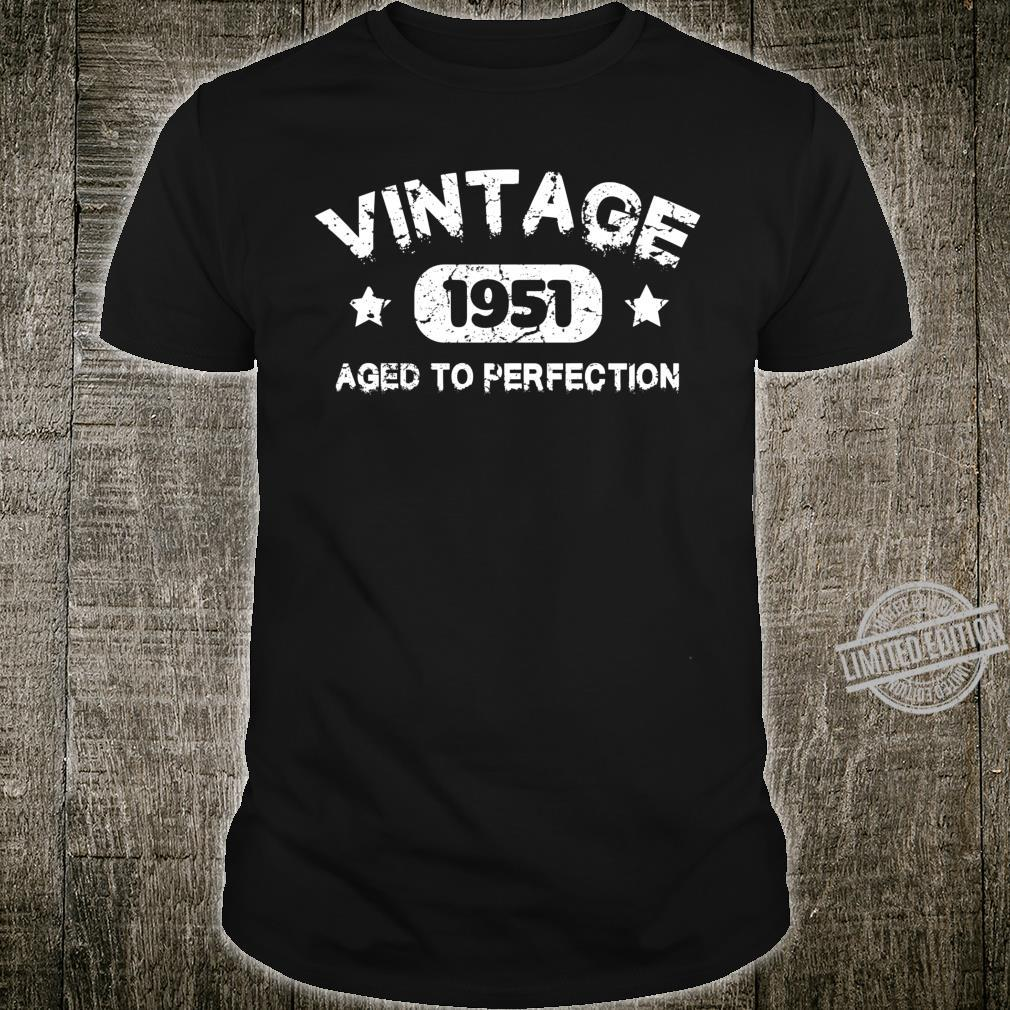 69 Years Old Made in 1951 Vintage 69th Birthday Idea Shirt