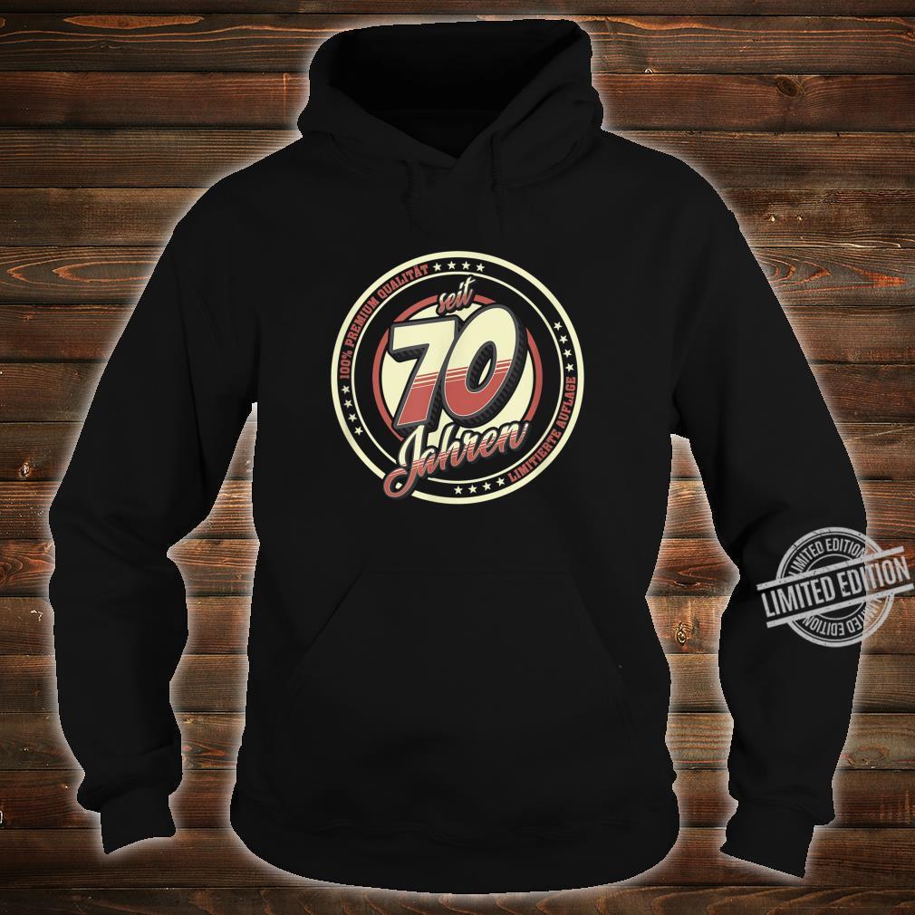 70. Geburtstag 70 Jahre Jahrgang 1950 Geschenk Shirt hoodie