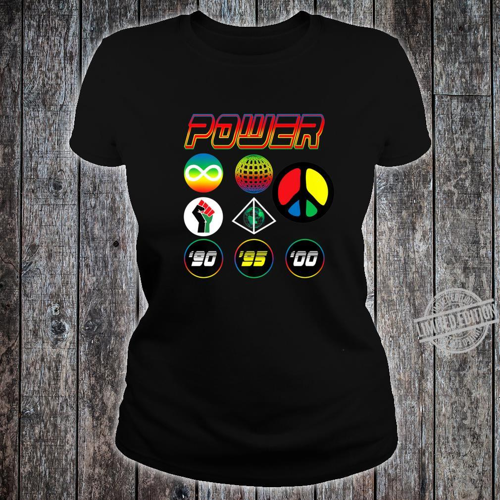 '90s Babies Worldwide Power Shirt ladies tee