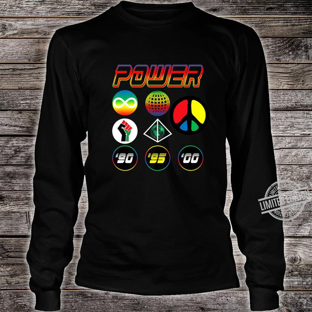 '90s Babies Worldwide Power Shirt long sleeved