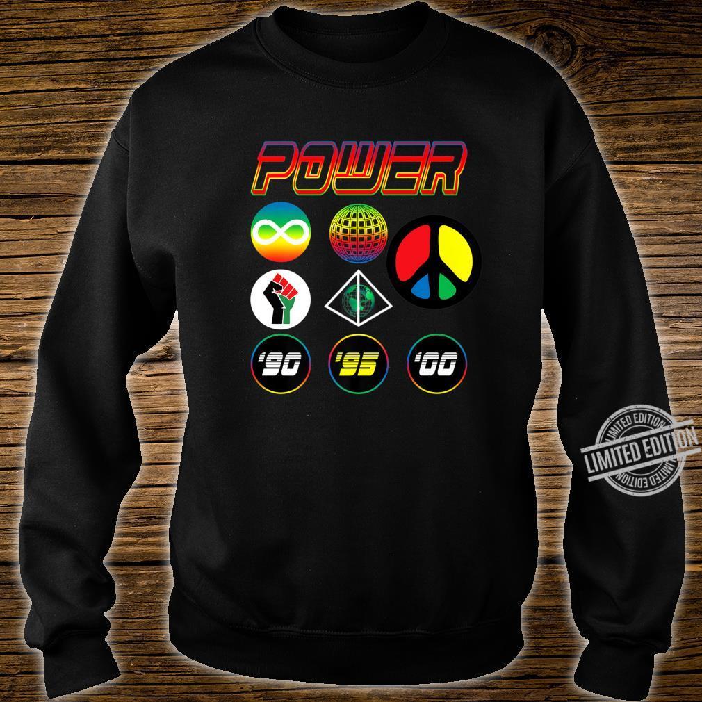 '90s Babies Worldwide Power Shirt sweater
