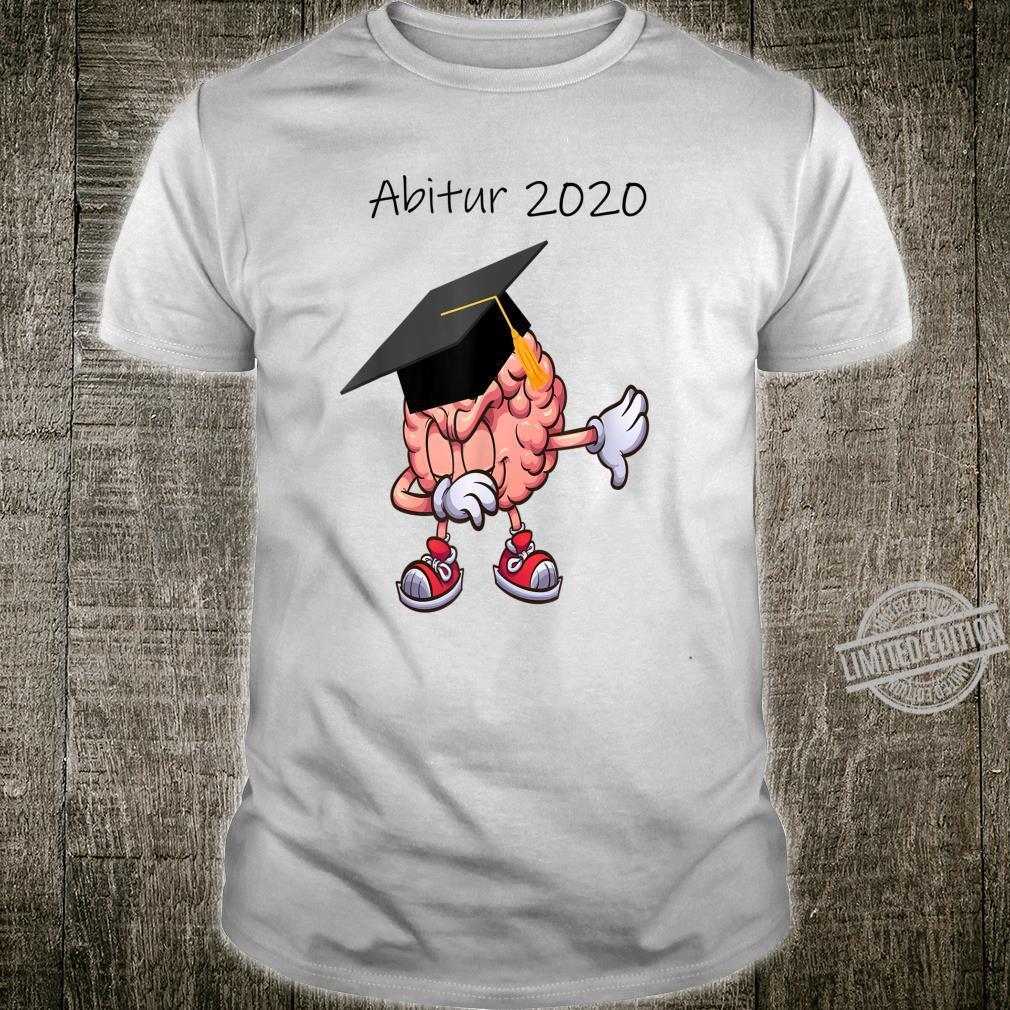Abitur 2020 Abi Abiturient Dabbing Gehirn Lustig Geschenk Shirt