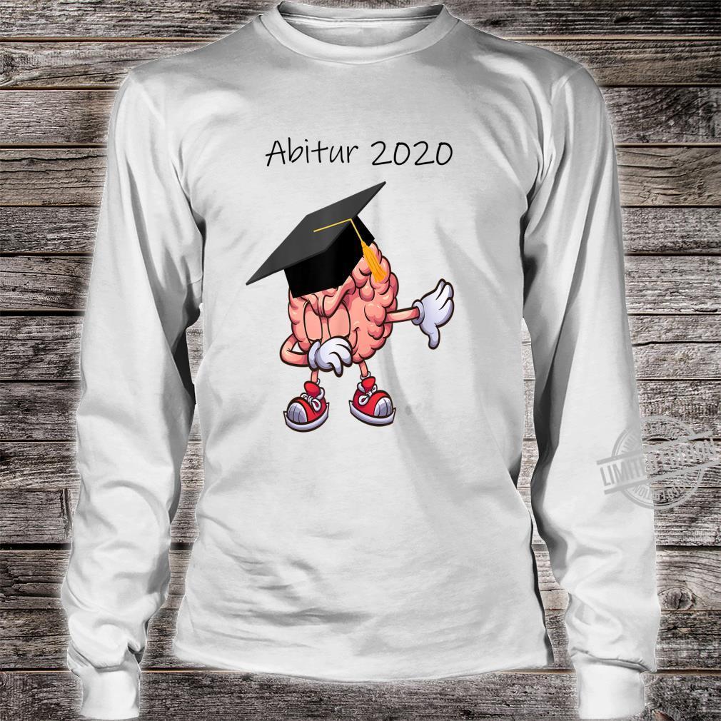 Abitur 2020 Abi Abiturient Dabbing Gehirn Lustig Geschenk Shirt long sleeved