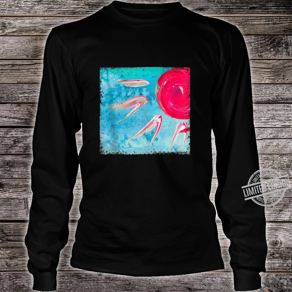 Abstract Vintage Creative Art Aesthetic Shirt long sleeved
