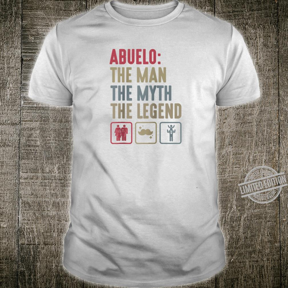 Abuelo Grandpa Fathers day Grandfather Dad Papa Shirt