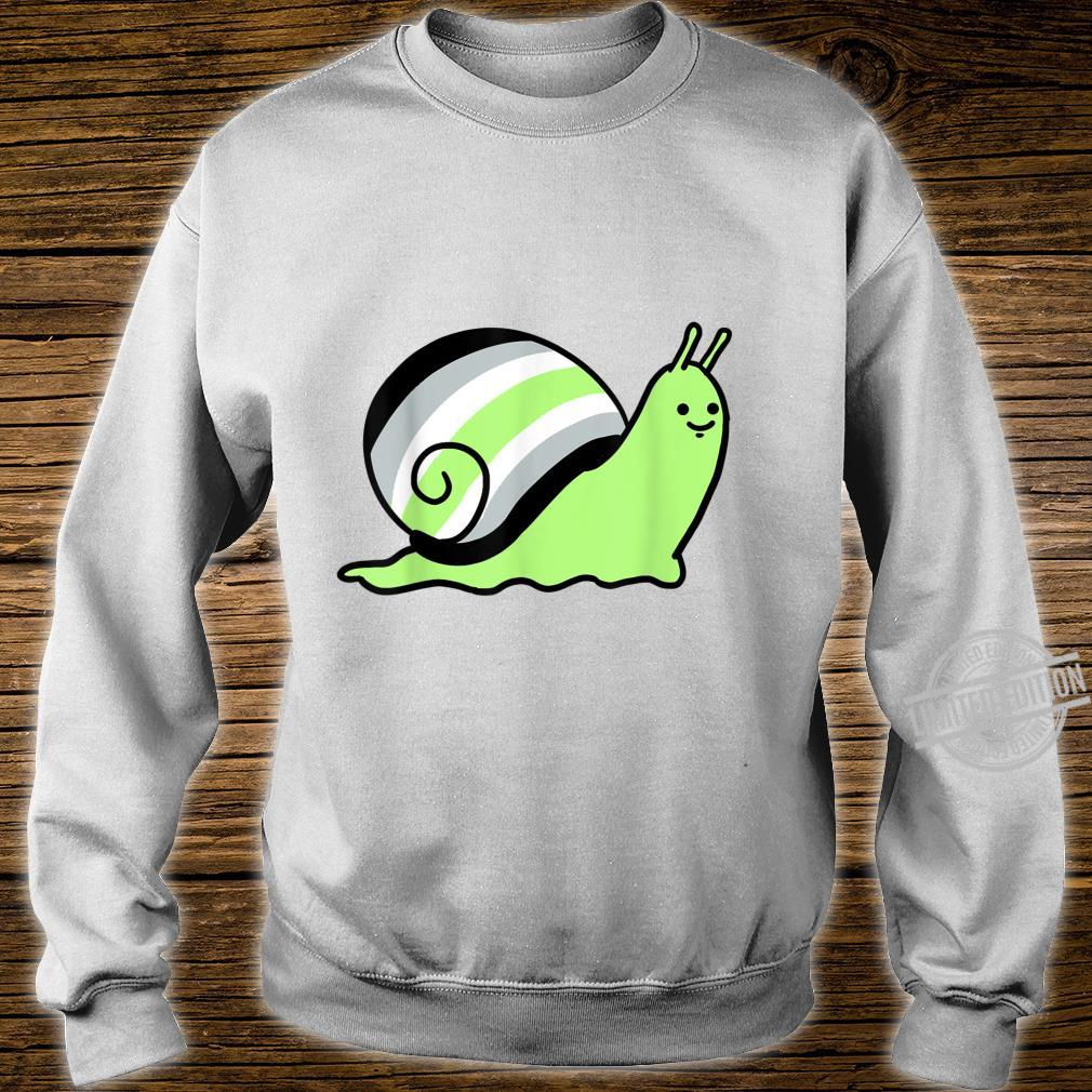 Ace Pride Schnecke Shirt sweater