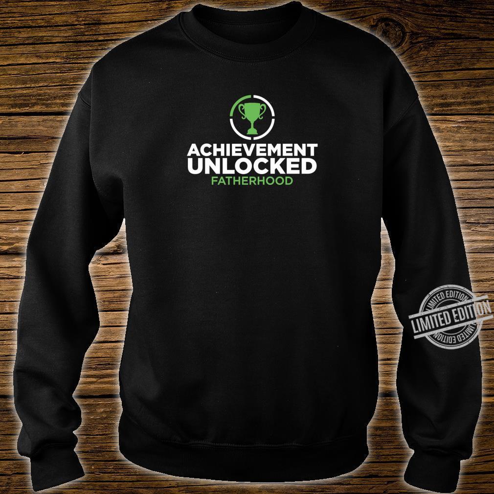 Achievement Unlocked Fatherhood Future Gamer Daddy Shirt sweater