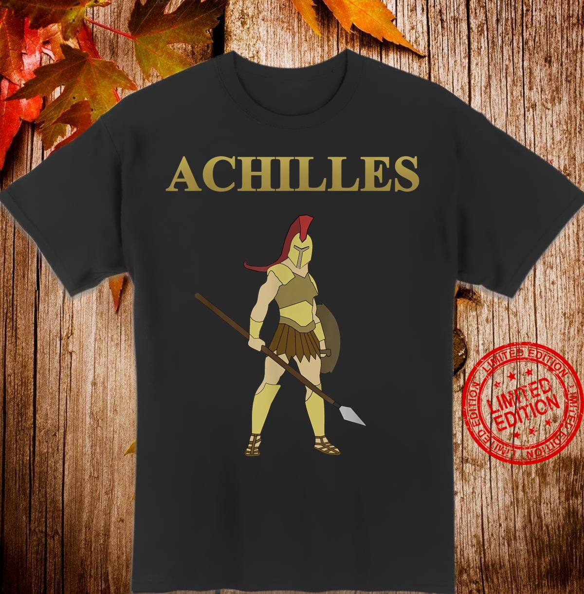 Achilles Hero of Greece Shirt