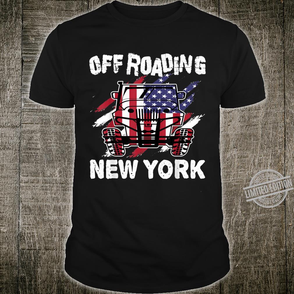 Adventure, 4x4, 'Off Roading New York' Shirt