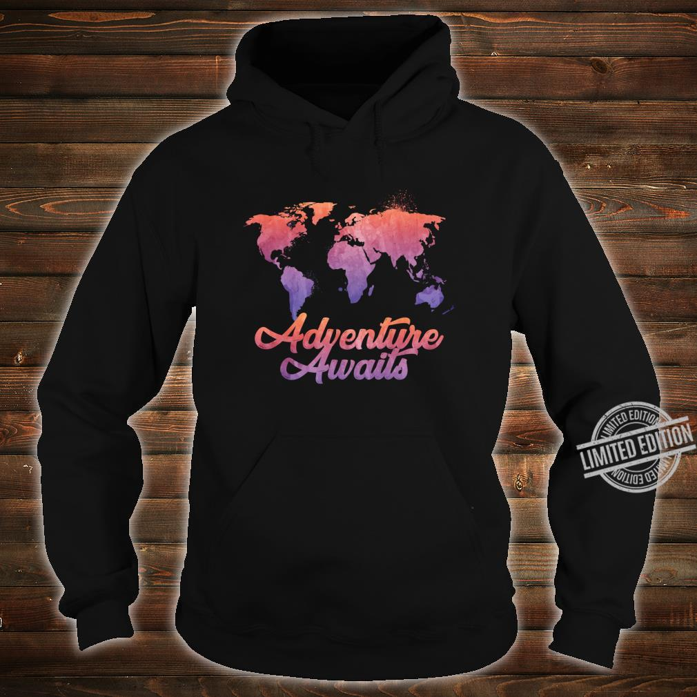 Adventure Awaits Outdoor Hike Camping Camper Shirt hoodie