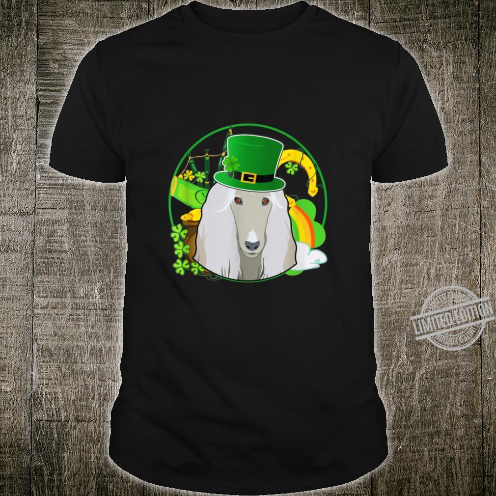 Afghan Hound Dog St Patricks Day Shirt
