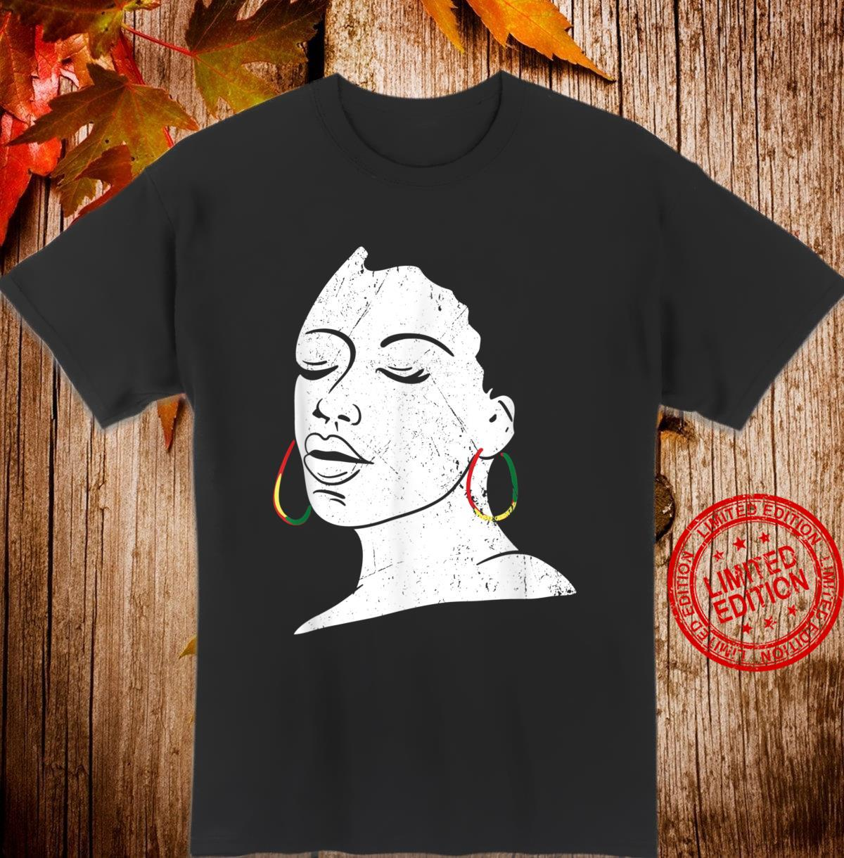 Afro Girl African American Black MP Shirt