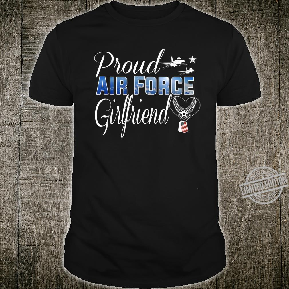 Air Force Girlfriend Shirt Proud Air Force Girlfriend Shirt