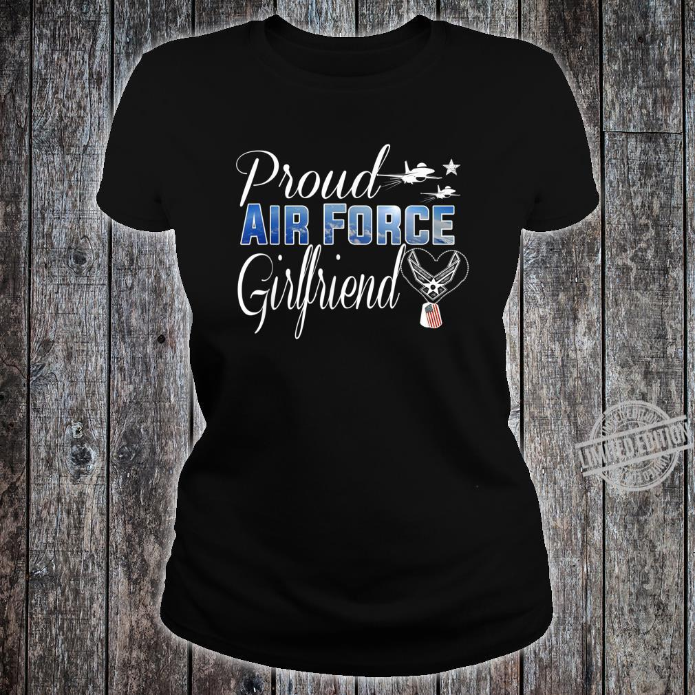Air Force Girlfriend Shirt Proud Air Force Girlfriend Shirt ladies tee