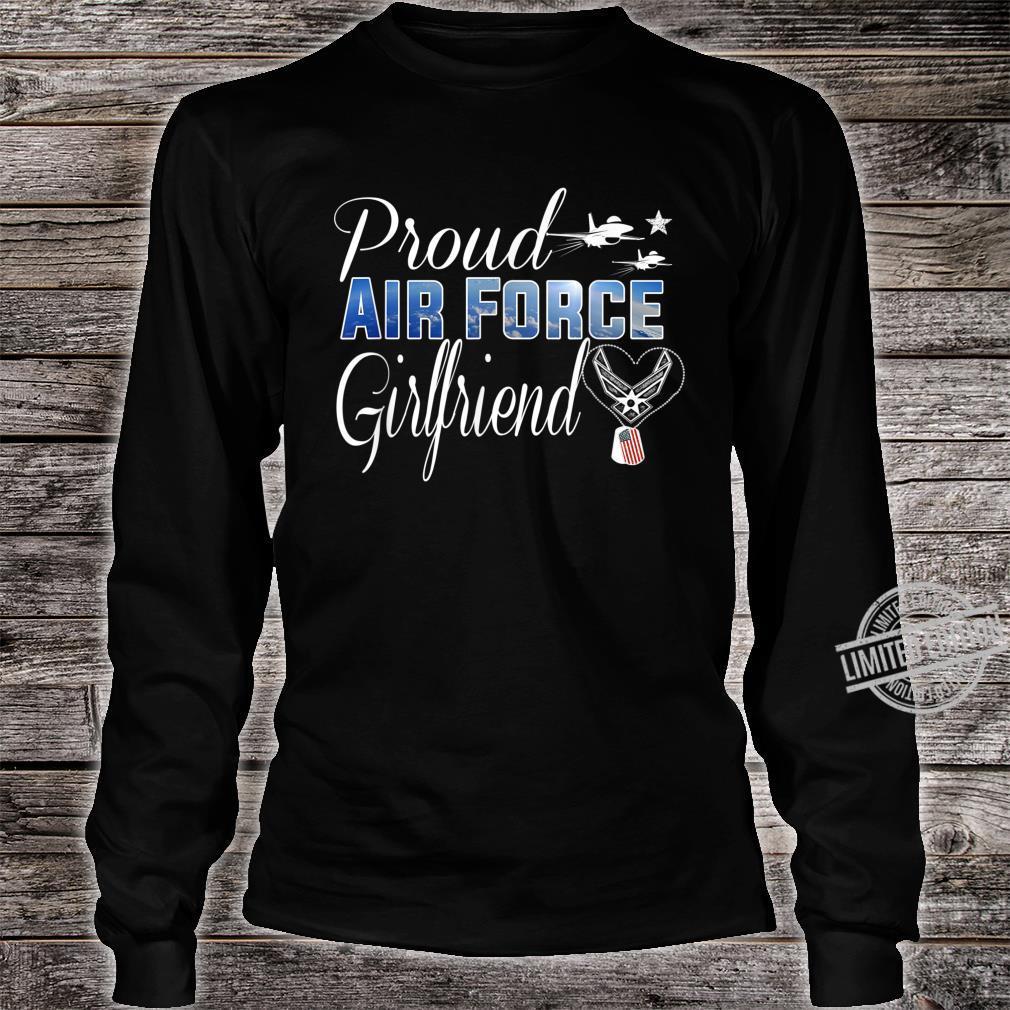 Air Force Girlfriend Shirt Proud Air Force Girlfriend Shirt long sleeved