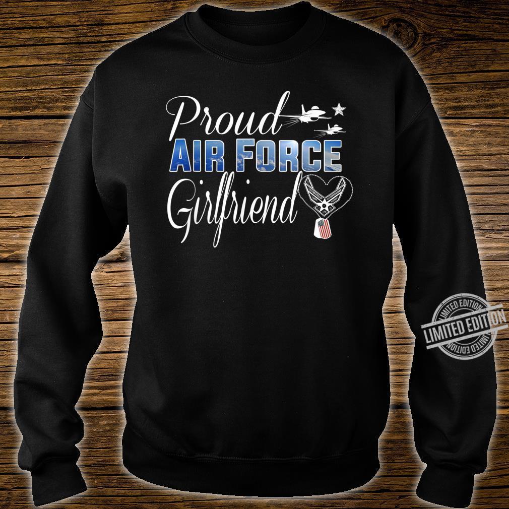 Air Force Girlfriend Shirt Proud Air Force Girlfriend Shirt sweater