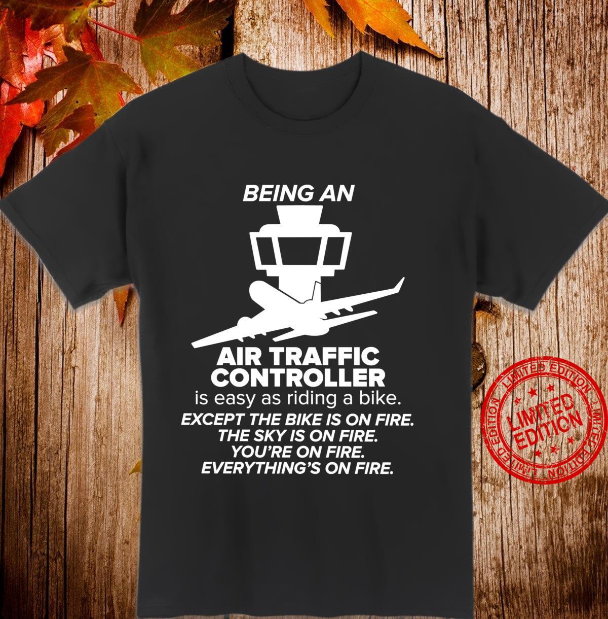 Air Traffic Controller Appreciation Airplane ATC Control Shirt