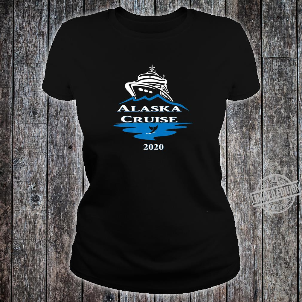 Alaska Cruise 2020 Vacation Matching Family Group Shirt ladies tee