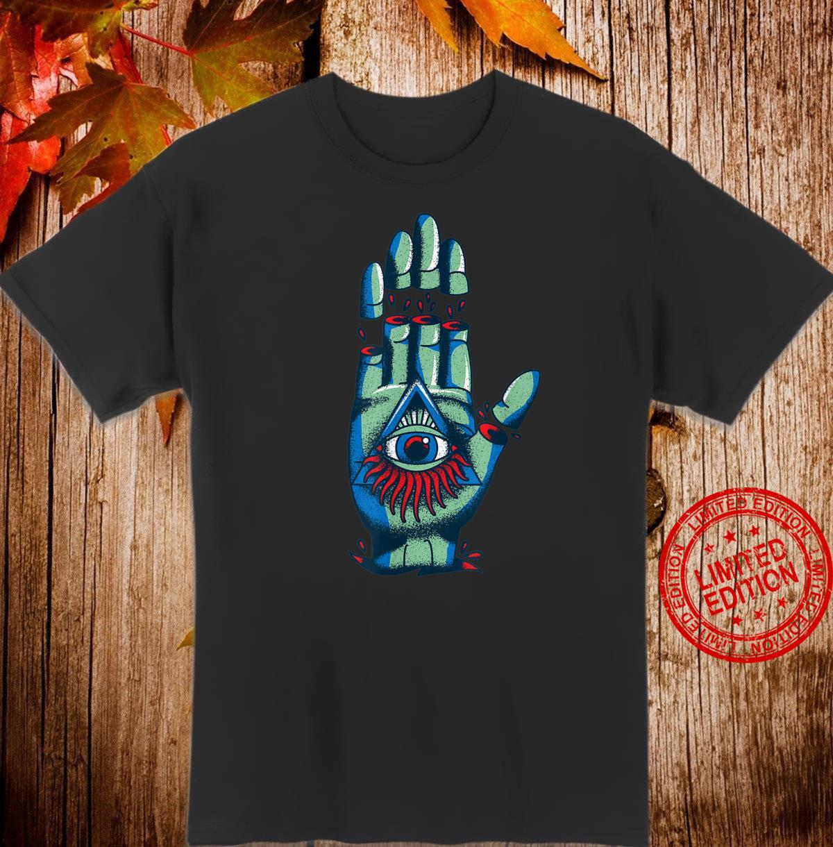 All Seeing Eye Illuminati Conspiracy Theory Vintage Shirt