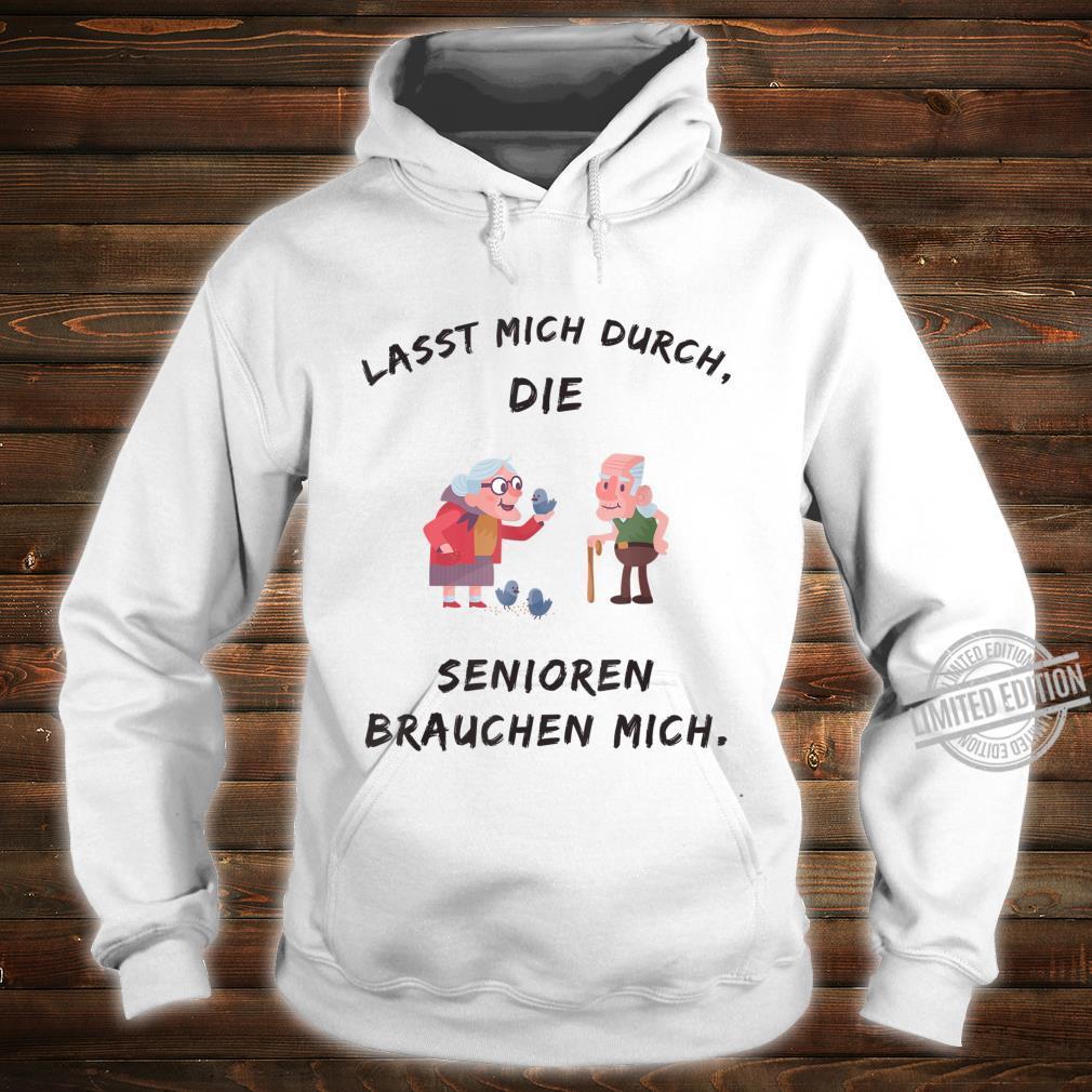 Altenpflege Spruch Lustig Kleidung Pflegefachkraft Pfleger Shirt hoodie