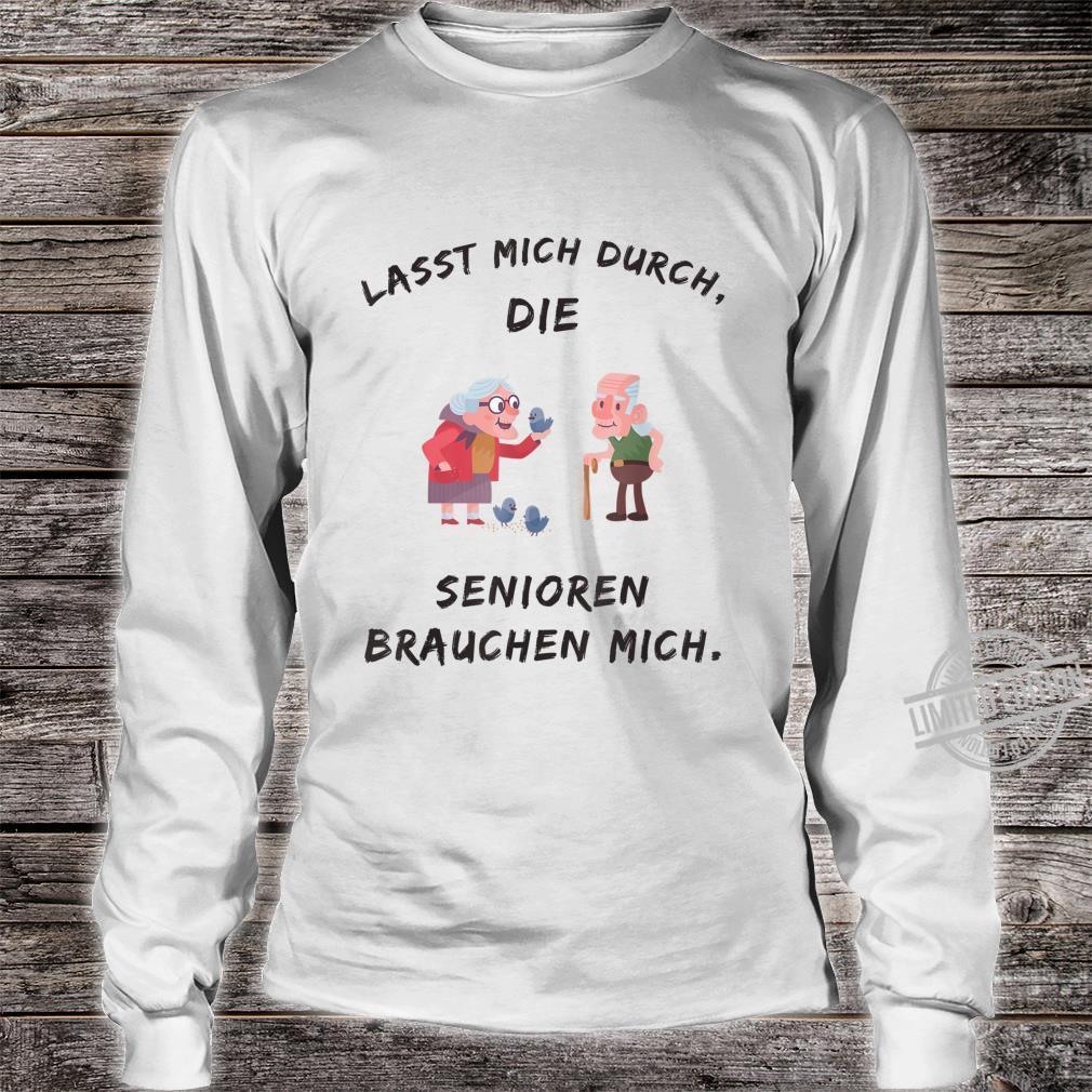 Altenpflege Spruch Lustig Kleidung Pflegefachkraft Pfleger Shirt long sleeved
