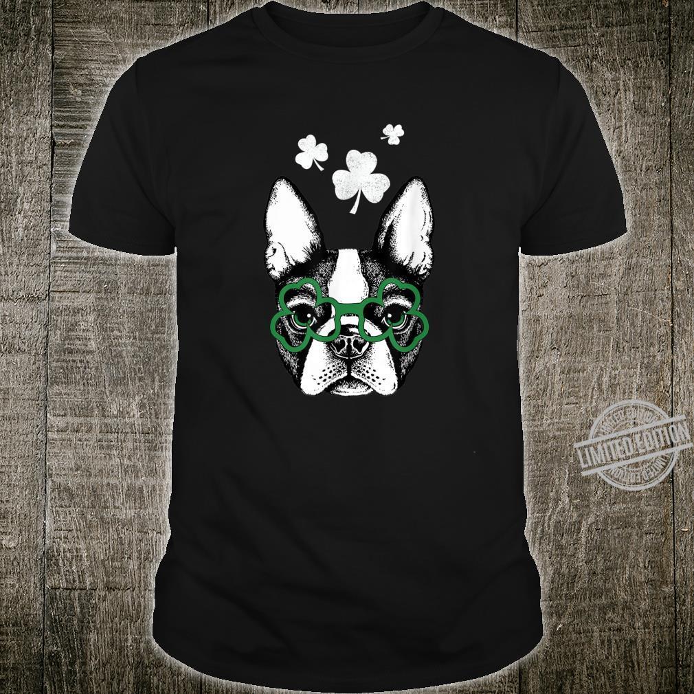 American Boston Terrier Cute Dog Saint Patricks Day Shirt