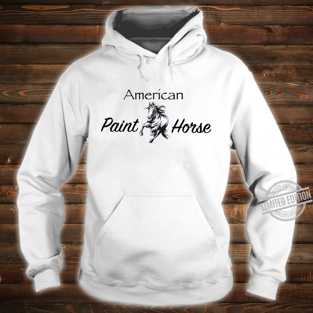 American Paint Horse Westernreiten Geschenk Shirt hoodie
