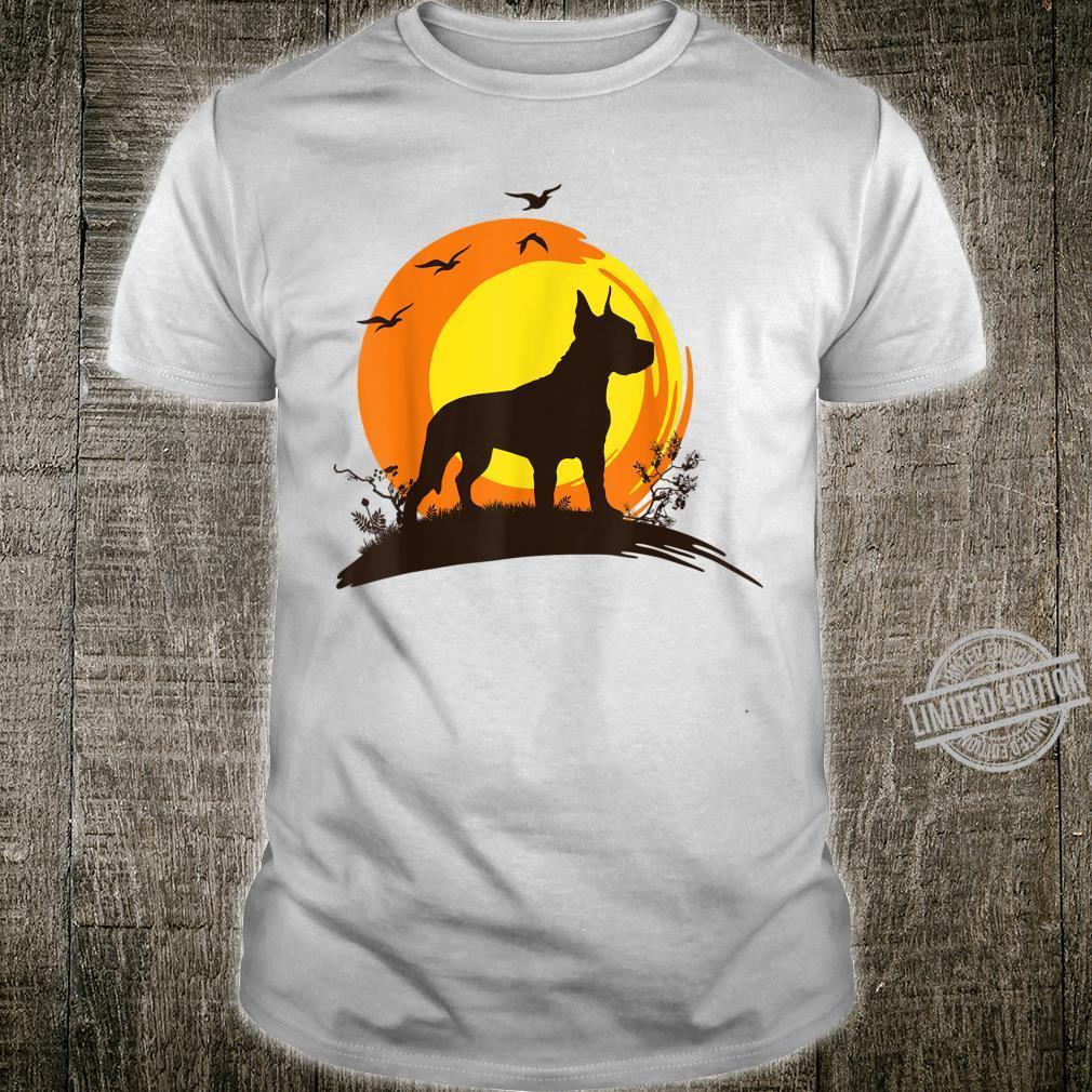 American Staffordshire Terrier Geschenk Shirt Männer Frauen Shirt