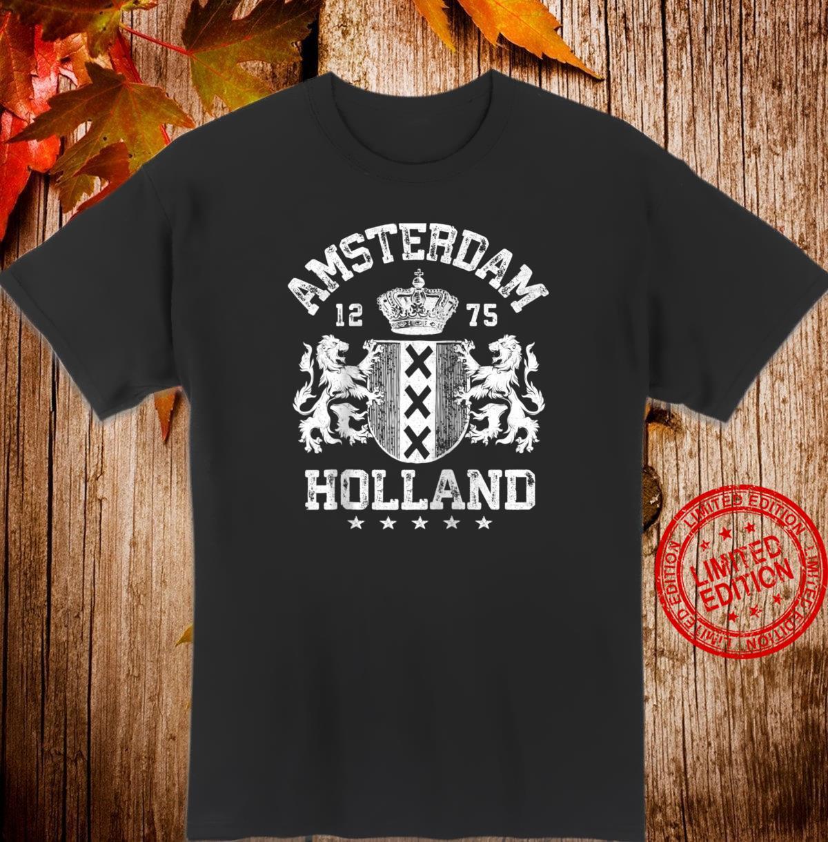 Amsterdam Shirt Netherlands Flag Holland Oranje Soccer Shirt